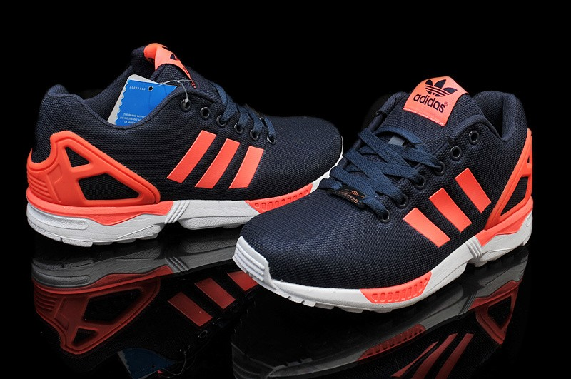 zx flux adidas herren orange