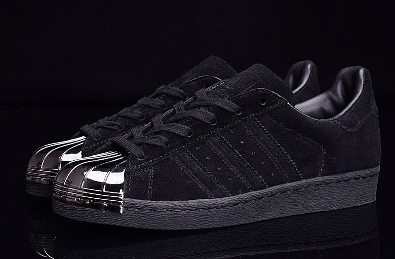 adidas superstar metallic nere