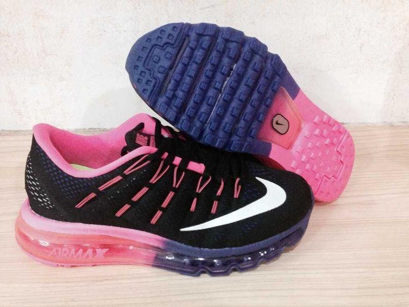 hot sale online f6ed5 16daf ... denmark nike air max 2016 trainer sneakers schwarz rosa weiß für damen  f1f3a da9ce
