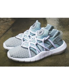 "Nike Air Huarache NM ""GREY Weiß"" sneakers grau / blau alice"