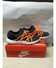 "Nike Air Huarache NM ""POISON GRÜN"" herren schwarz und orange sneakers schuhe"