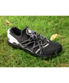 Nike Air Huarache herren alle schwarze sneakers Trainer