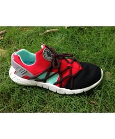 Nike Air Huarache herren schwarzen und roten schuhe Trainer