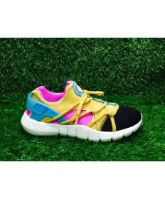 Nike Air Huarache herren gelb / RPSE / blau / schwarze sneakers
