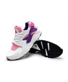 Nike Air Huarache Licht weiß, rosa, lila Sneaker für damen