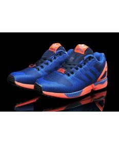Adidas ZX FLUX-Gewebe für Herren medium / dunkelSlateblau / Tomato schuhe