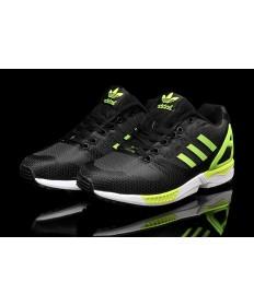 Adidas ZX FLUX für Herren weben gelbgrün / schwarz / gelb schuhe Trainer