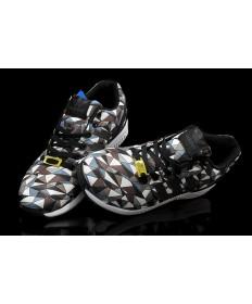 Adidas ZX Flux Prisma Schokolade / schwarz / weiß / cadetblau Trainer für Herren