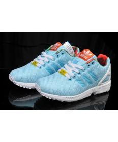 Adidas ZX FLUX damen leichtskyblau Trainer