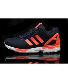 Adidas ZX FLUX herren Indigo / orange sneakers