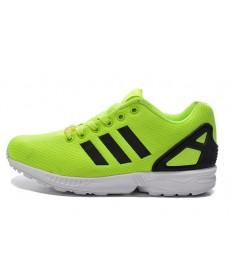 Adidas ZX FLUX schuhe gelbgrün / schwarz