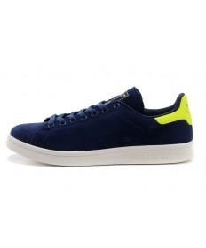 Adidas Stan Smith indigo / Fluogrün sneakers