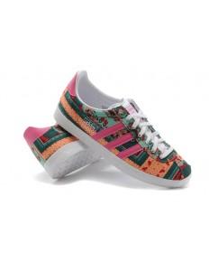Adidas Gazelle dunkelcyan / leichtsalmon Trainersneakers für damen