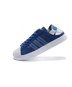 Adidas Superstar Breathe Herren blau / weiße sneakers