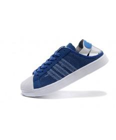 Adidas Superstar Breathe Herren blau / weiße sneakers