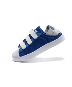 Adidas Superstar Sommer atherrenn herrensneakers royalblau / weiße sneakers