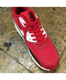 Nike Air Max 90 sneakers rot-weiß-schwarz
