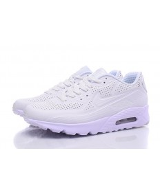 NIKE AIR MAX 90 ULTRA MOIRE beige-weiße sneakers