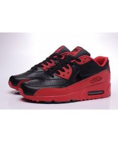 NIKE AIR MAX 90 schwarz-rote sneakers