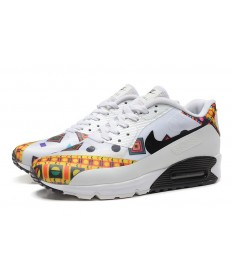 newest collection 0fb19 e5179 NIKE AIR MAX 90 HYP PRM Trainingsschuhe weiß-gelb