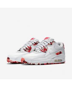 Nike Air Max 90 schuhe weiß-rot