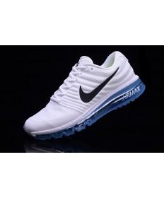 Nike Air Max 2017 weiß-royal blaue sneakers für Herren