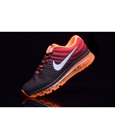 Nike Air Max 2017 Trainer schwarz-orange für Herren