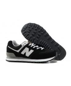 New Balance 574 sneakers Schwarz, Weiß für herren