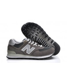 New Balance 574 Trainer Grau, Weiß für herren