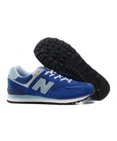 New Balance 574 Trainer Blau, Aqua für herren