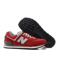 New Balance 574 herren Rot, Trainer sneakers Grau