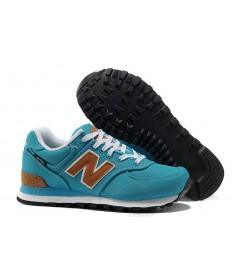 New Balance 574 Blau für schuhe der damen