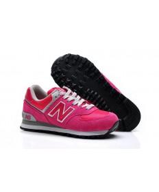New Balance 574 Rosa, Weiß für sneakers der damen