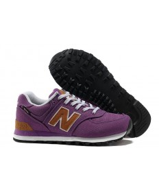 New Balance 574 Lila sneakers für damen