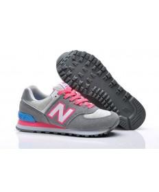 574 New Balance Grau, Rosa Sneaker für damen