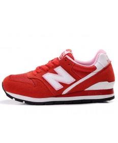 New Balance 996 rot, weiß Trainer schuhe der damen