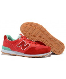 New Balance 996 Rot, New grün Trainersneakers der damen