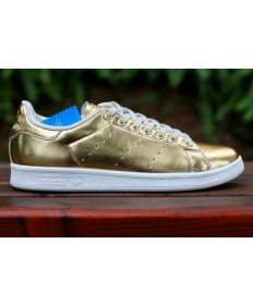 Adidas Stan Smith Luxus Goldfarbe Trainersneakers