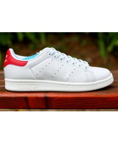 Adidas Stan Smith sneakers weiß rot