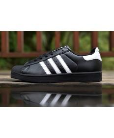 Adidas Superstar 80s Trainer schuhe schwarz weiß