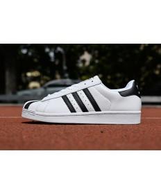 Adidas Superstar 80s sneakers weiß schwarz
