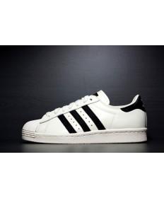Adidas Superstar 80s Trainer weiß schwarz