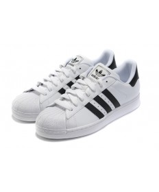 Adidas Superstar 80s schuhe beige schwarz