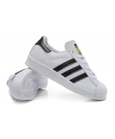 Adidas Superstar 80s Trainer schuhe weiß schwarz
