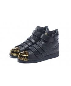 Adidas Superstar 80s schuhe schwarz / gold