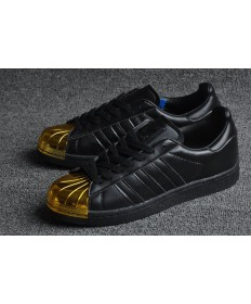 Adidas Superstar 80er Metal Toe schwarz / gold Trainersneakers
