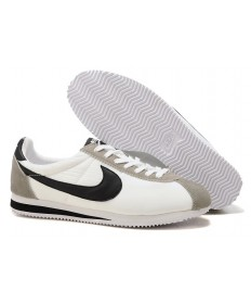 Nike Classic Cortez Nylon Herren-Weiß Grau Schwarz sneakers