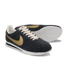 Nike Classic Cortez YOT Suede Vintage-herren dunkel Grey Gold-sneakers