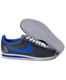 Nike Classic Cortez Nylon Dunkelgrau Blau Trainer für Herren