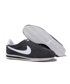 Nike Classic Cortez Suede Vintage-Dunkelgrau Weiße schuhe für Herren